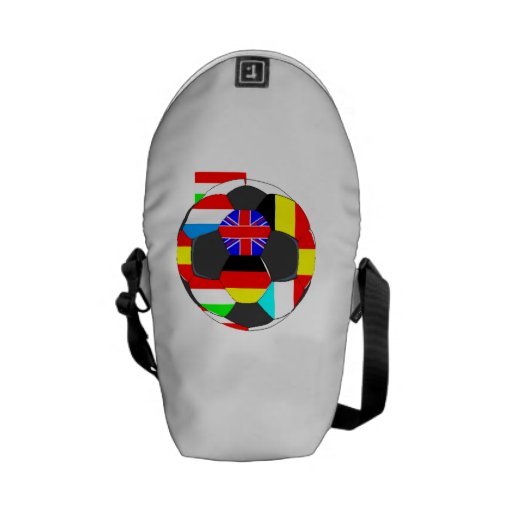 World Flags Soccer Ball Courier Bag