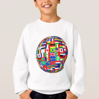 WORLD FLAGS SWEATSHIRT