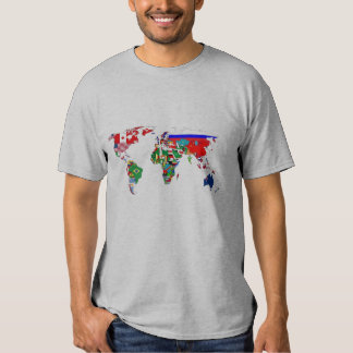 World Flags Tees