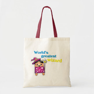 """""""World Greatest Wizard"""" Tote Bag"""