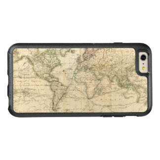 World Hand Colored map OtterBox iPhone 6/6s Plus Case