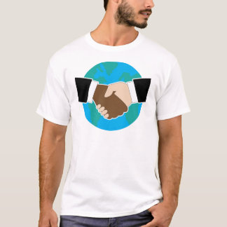 World Hand Shake T-Shirt
