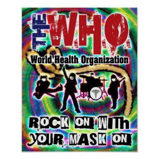 World Health Organization Concert Poster