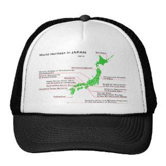 World Heritage in JAPAN Cap