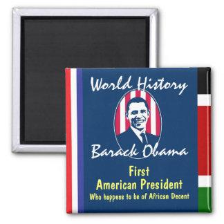 World History Square Magnet