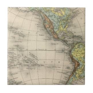 World hypsometric maps tile
