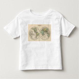 World hypsometric maps toddler T-Shirt