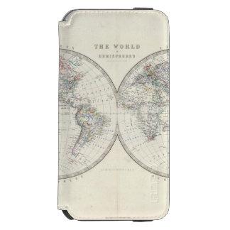 World in hemispheres incipio watson™ iPhone 6 wallet case