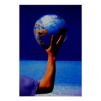 World In My Hand Poster