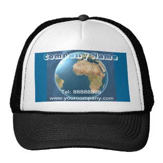 World International Globe Business Hat