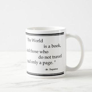 """World is a book..."" Mug"