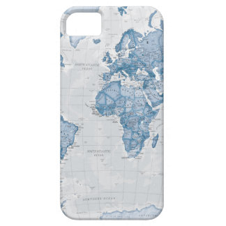 World is Art - Blue iPhone 5 Cover