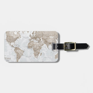 World is Art - Neutral Luggage Tag