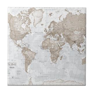 World is Art - Neutral Tile