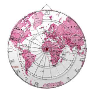 World is Art Pink - Kids Dart Board