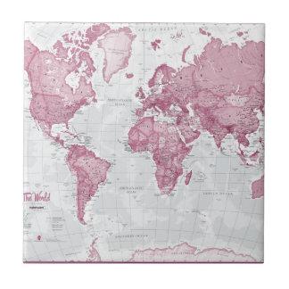 World is Art - Pink Tile