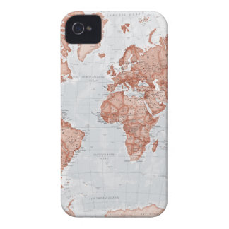 World is Art - Red iPhone 4 Case-Mate Cases