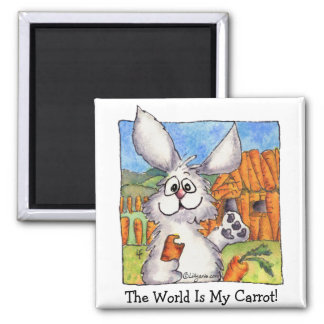 World is My Carrot Magnet