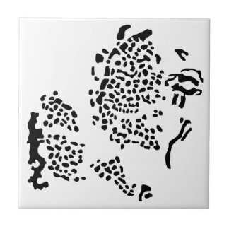 World Islands Archipelago, Dubai. Small Square Tile