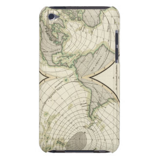 World isodynamic lines iPod touch case