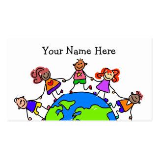 World Kids Business Cards