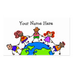 World Kids Business Cards