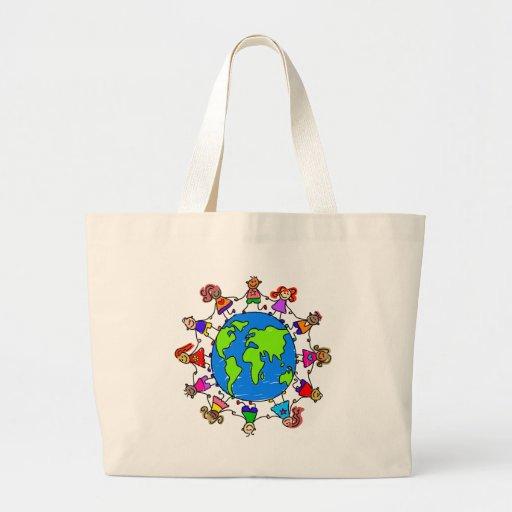 World Kids Jumbo Tote Bag