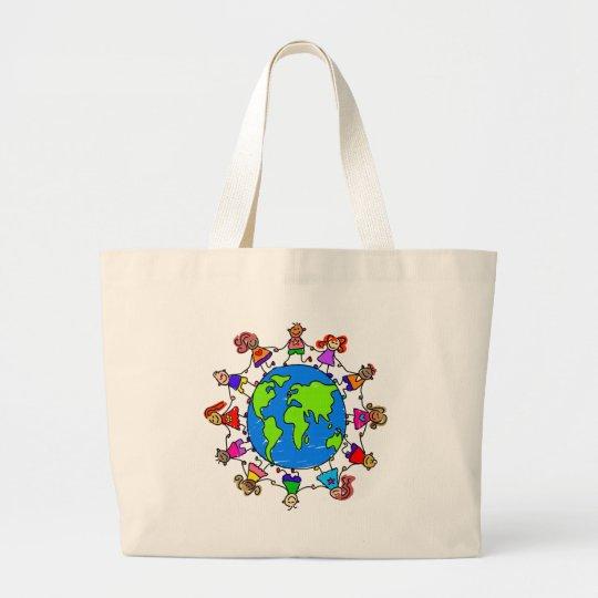 World Kids Large Tote Bag