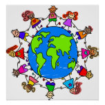 World Kids Poster