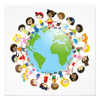 World kidz personalized invitations