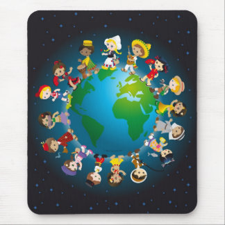 World kidz mouse pad