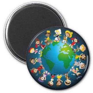 World kidz refrigerator magnets