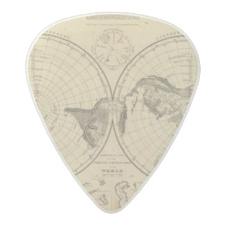 World land surface acetal guitar pick