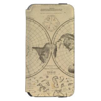 World land surface incipio watson™ iPhone 6 wallet case