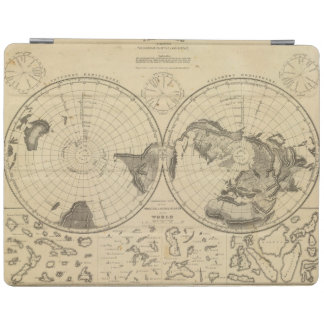 World land surface iPad cover