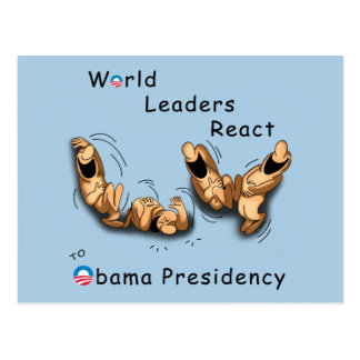 World Leaders React (Obama) Postcard