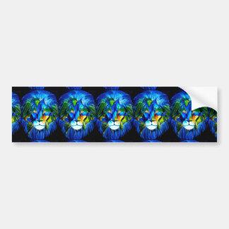 world lion bumper sticker