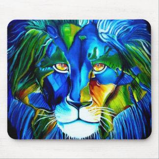 world lion mouse mat