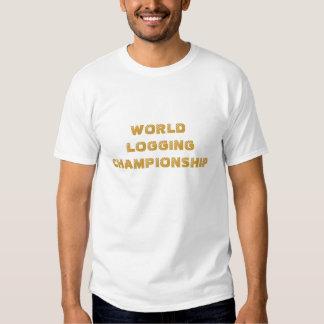 WORLD LOGGING CHAMPIONSHIP TEE SHIRT