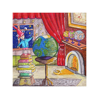 World Maker Canvas Print