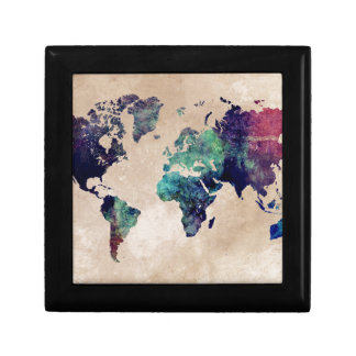 world map 10 gift box