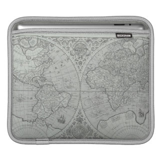 World Map 10 iPad Sleeve