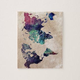 world map 10 jigsaw puzzle