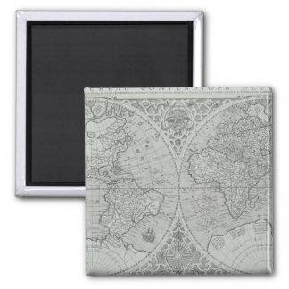 World Map 10 Magnet