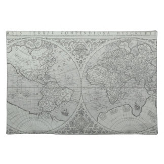 World Map 10 Placemat