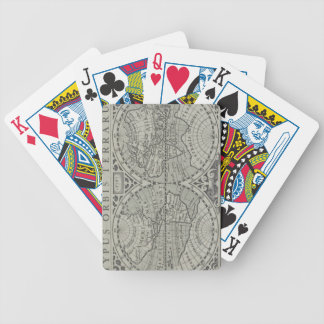 World Map 11 Bicycle Playing Cards