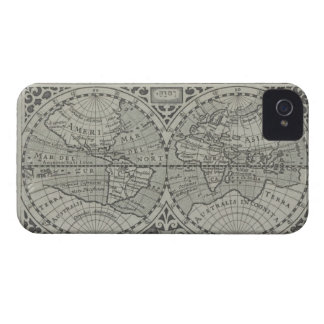 World Map 11 Case-Mate iPhone 4 Case