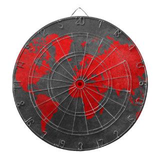 world map 11 dartboard