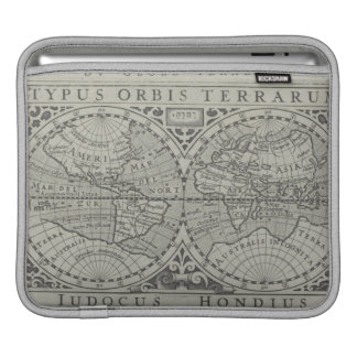 World Map 11 iPad Sleeve