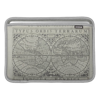 World Map 11 MacBook Sleeve